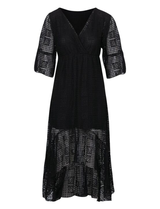 Long Dress Bonita Zwart