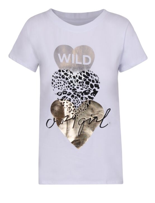 T-shirt Crazy Girl