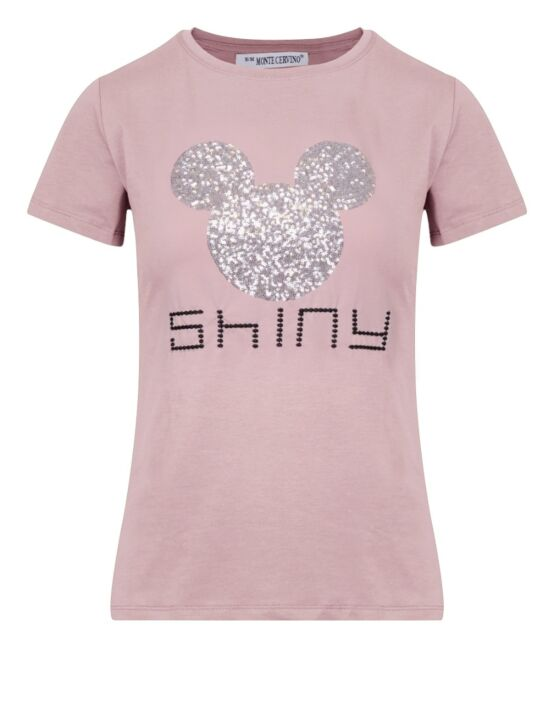 T-shirt Shiny Mickey Roze