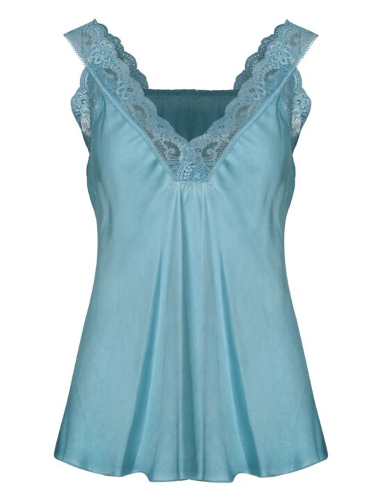 Hemd Love Lace Turquoise