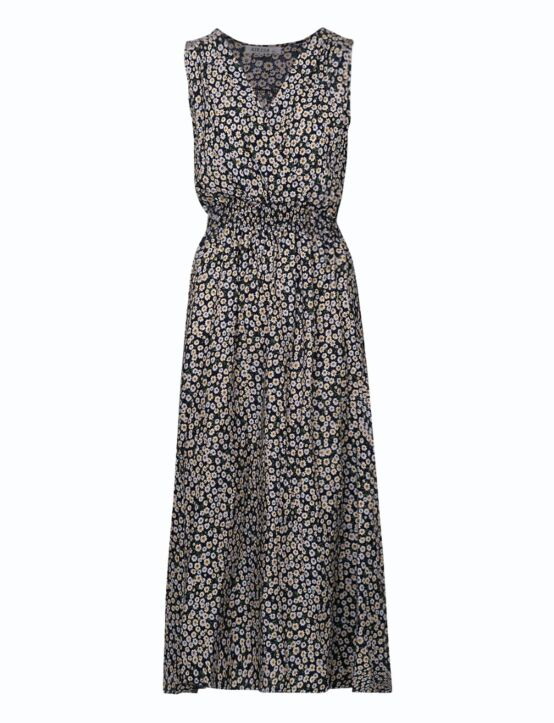 Long Dress Margriet Donkerblauw