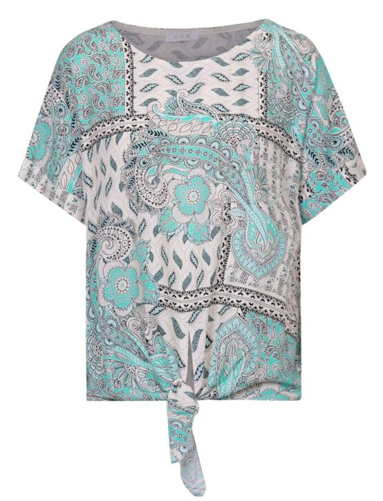 Top Evvery Turquoise