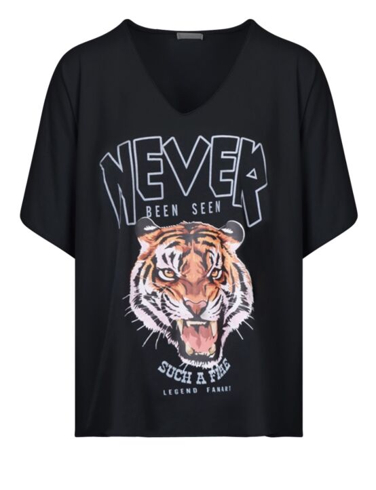 T-shirt Been Seen Zwart