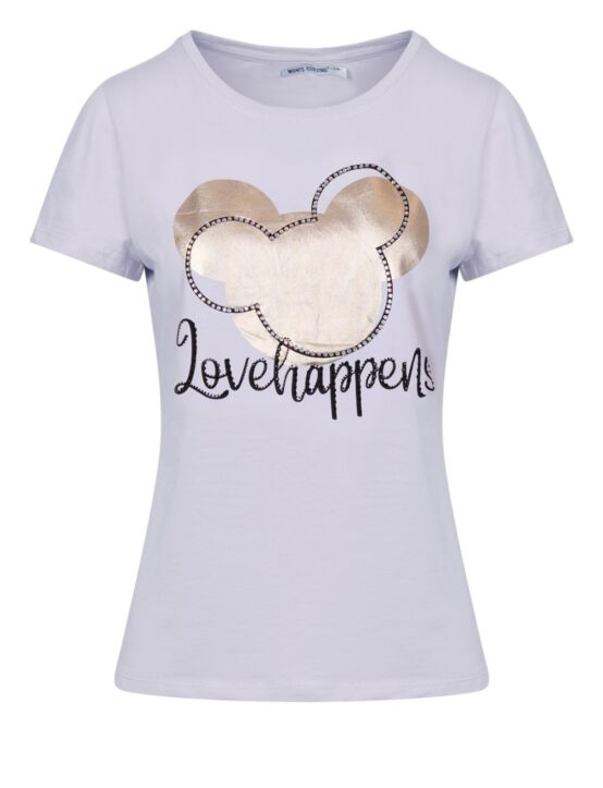 T-shirt Love Happens Wit