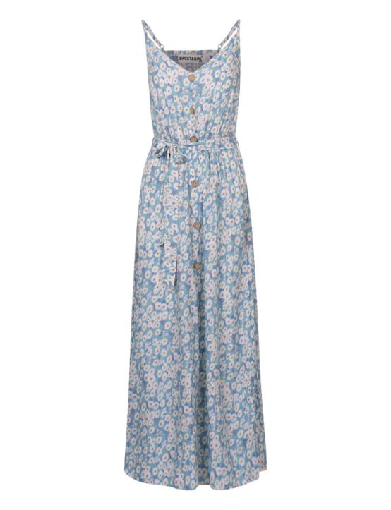 Long Dress Lavie Blauw