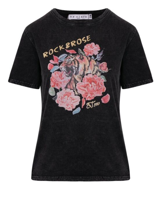 T-Shirt Rock And Rose