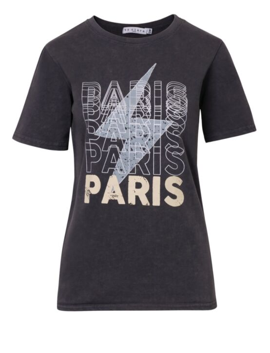 T-shirt Paris Paris Grijs