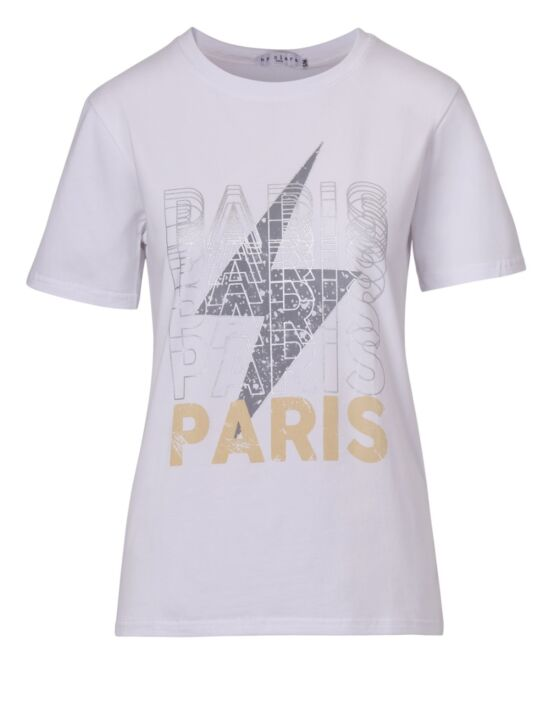 T-shirt Paris Paris Wit