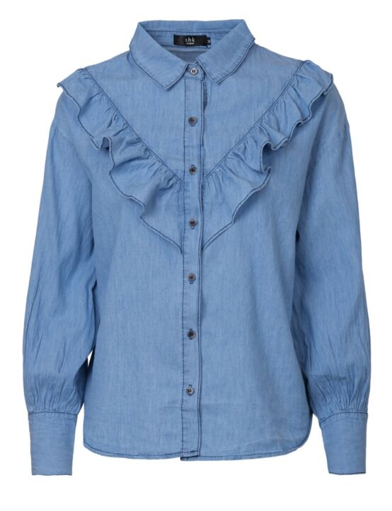 Denim Blouse Lux
