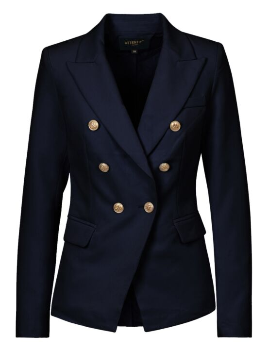 Luxury Blazer Donkerblauw