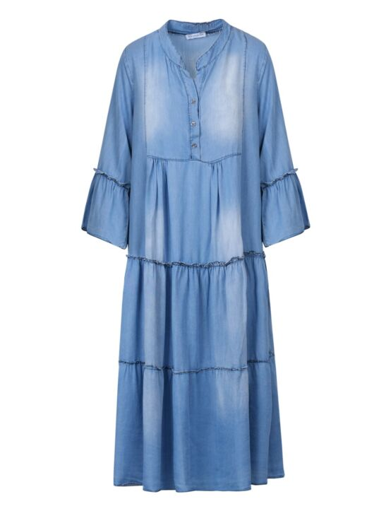 Long Denim Dress Julia