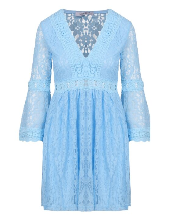 Dress Lillie Lace Blauw