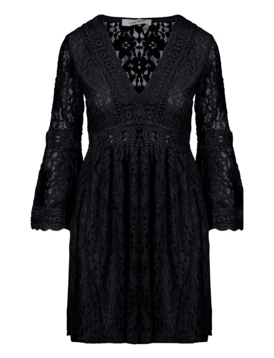 Dress Lillie Lace Zwart