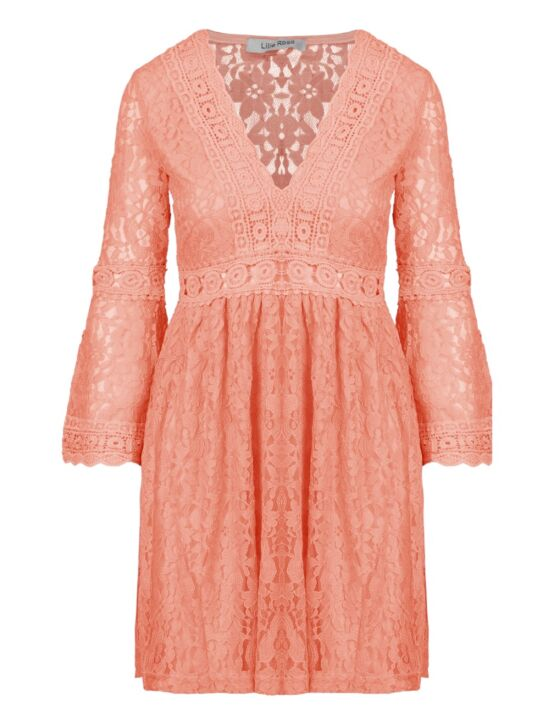 Dress Lillie Lace Koraal