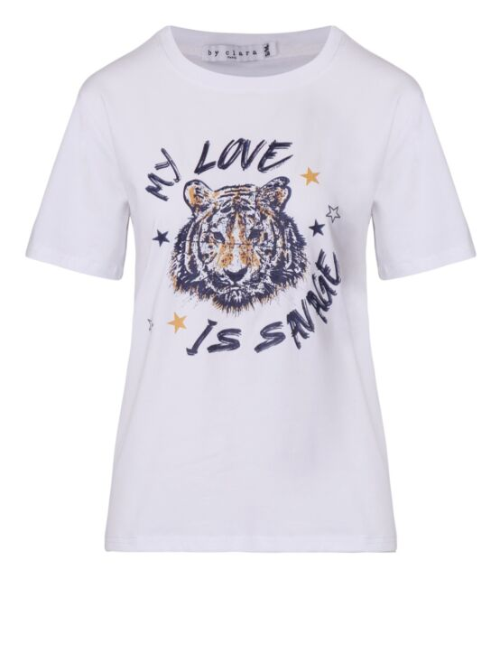 T-shirt My Love is Savage Wit