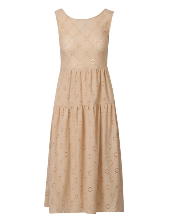 Long Dress Fie Beige