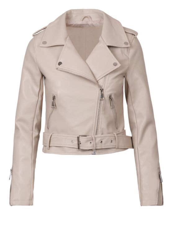 Leather-look Jacket Jacky Beige