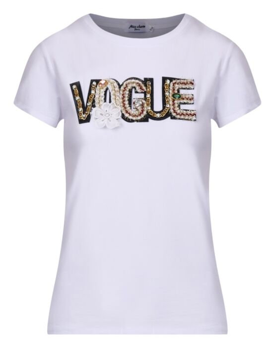 T-shirt Vogue Cute Wit