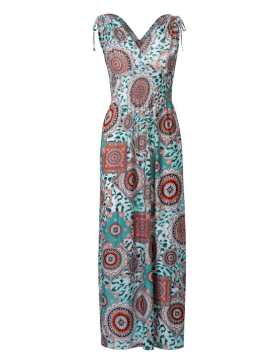 Long Dress Davina Turquoise