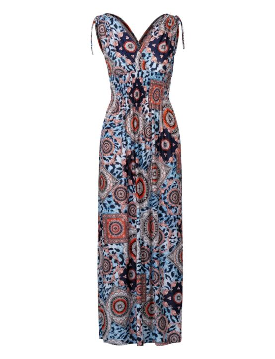 Long Dress Davina Blauw