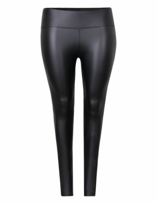Leather-Look Legging 2049 Zwart
