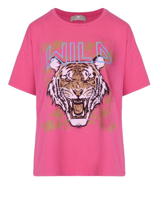 T-shirt Wild Fuchsia