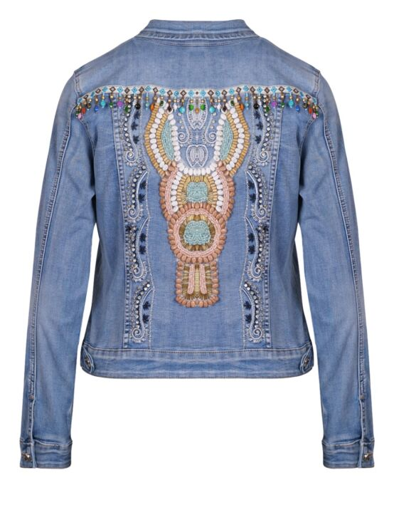 Denim Jacket Boho