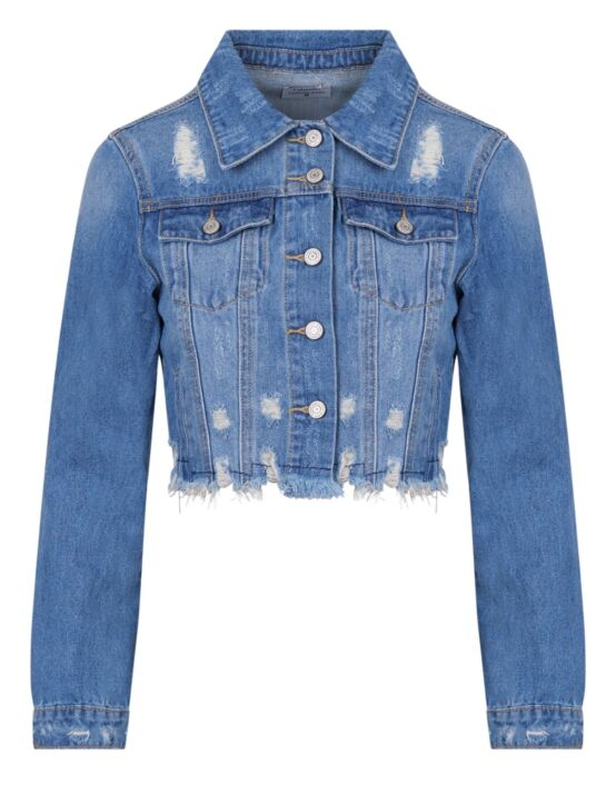 Idodo | Blue Denim Jacket Z-137