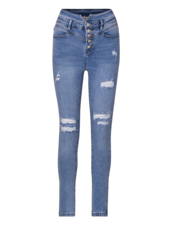 Queen Hearts | Blue Jeans 842