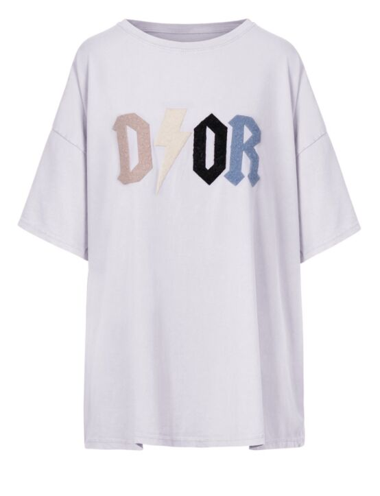 Oversized Tee D!or Wit