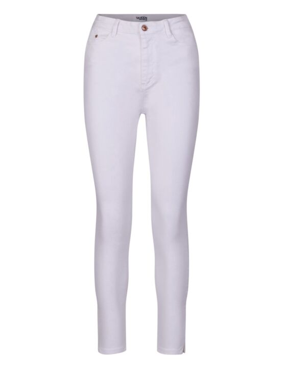 Queen Hearts | White Jeans 877-B