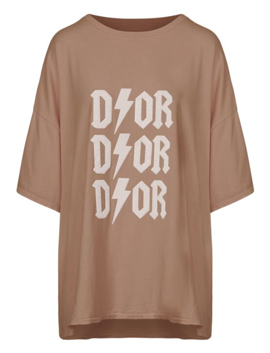 Oversized Tee 3x D!or Zand