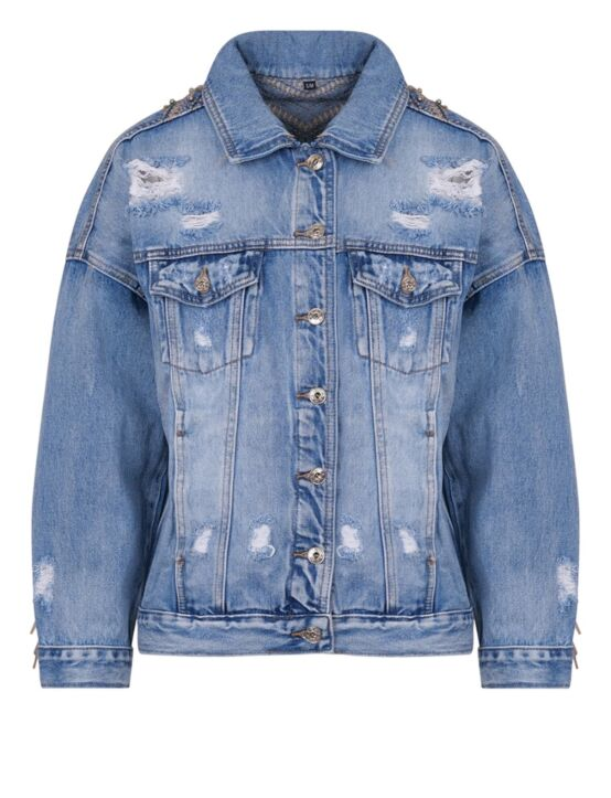Denim Jacket Fringe