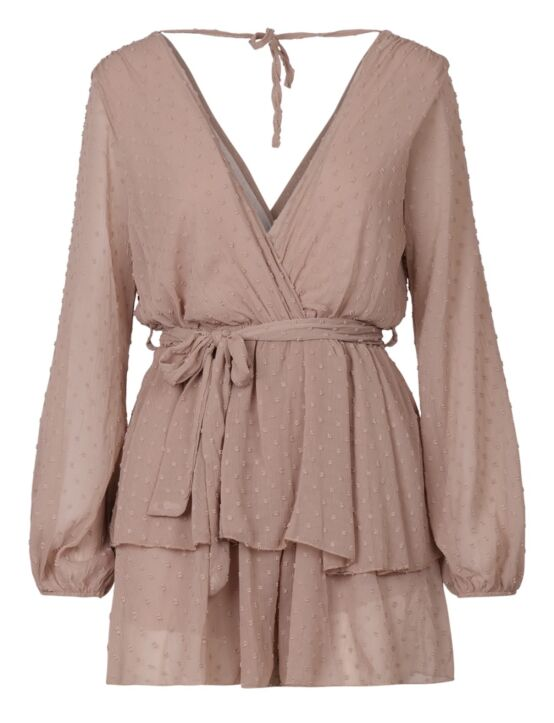 Dress Dimphy Taupe