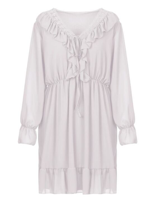 Dress Veerle Wit