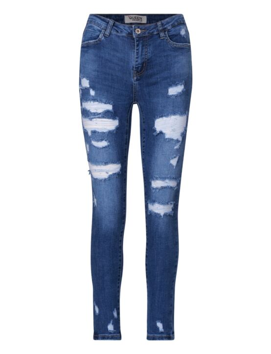 Queen Hearts | Blue Jeans 846