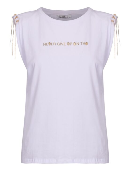 T-shirt Never Give up on the Wit