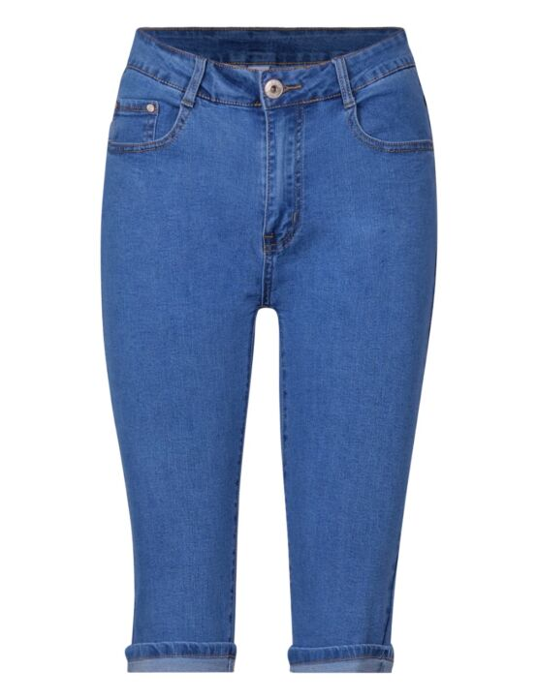 G-Smack | Blue Capri Jeans SG-3336#