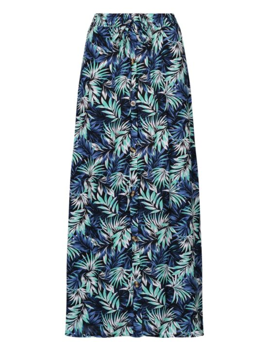 Long Skirt Natascha Turquoise