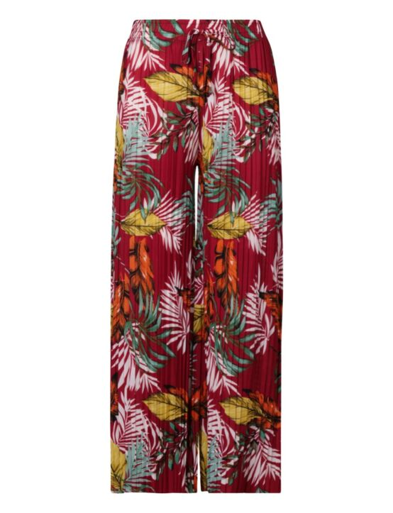 Trouser Tropical Rood