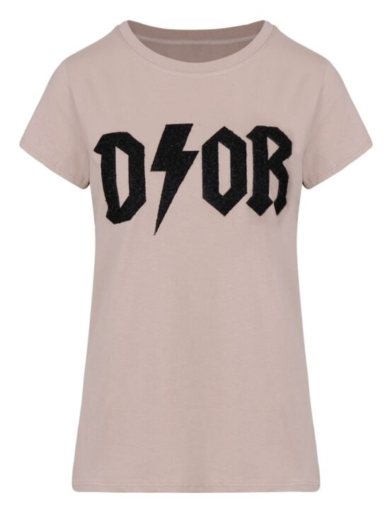 T-shirt New D!or Taupe