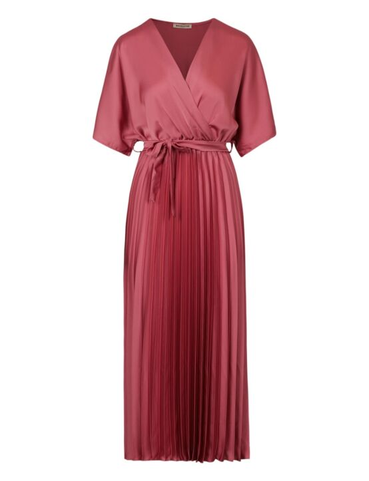 Long Plisse Dress Bella Roze