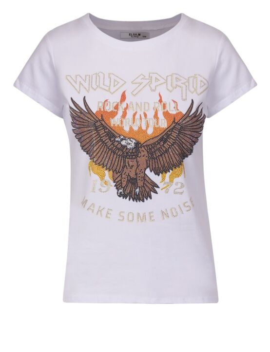T-shirt World Spirid Wit