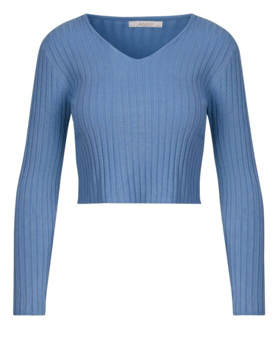 Top Holly Blauw