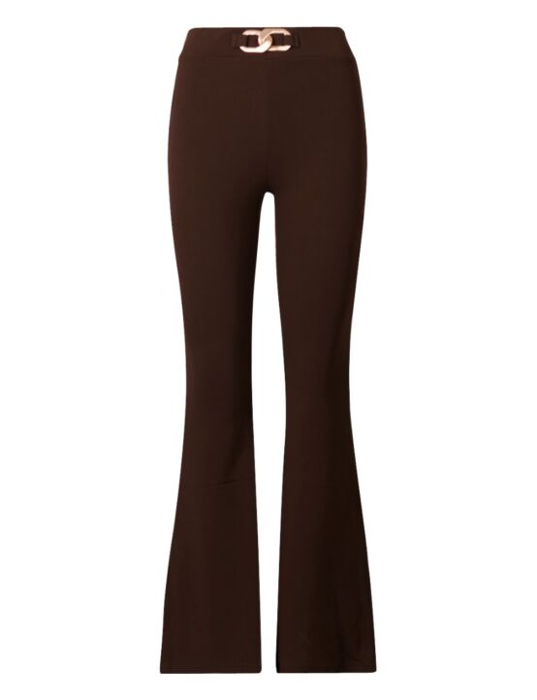 Flared Pants Chain Bruin