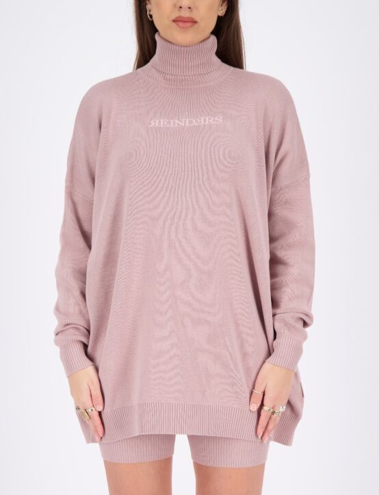 Reinders | Sweater Open Back Mauve