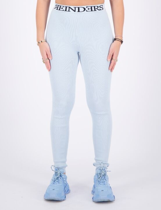 Reinders | Twin Set Pants Entarsia Baby Blue