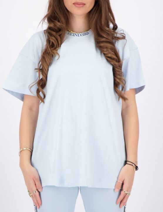 Reinders | T-shirt Open Back Baby Blue