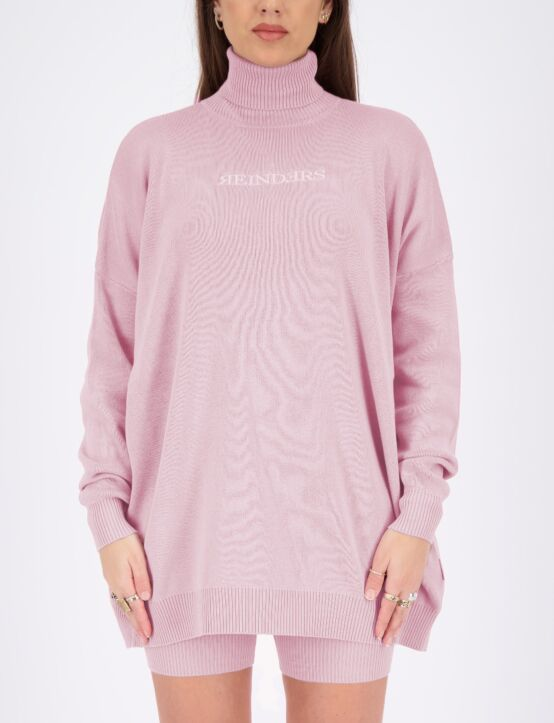 Reinders | Sweater Open Back Baby Pink