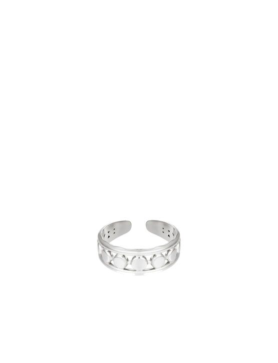 Ring Connected Zilver